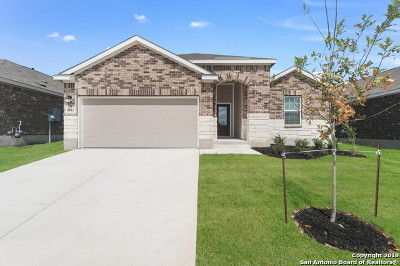 San Antonio Single Family Home New: 8543 Laxey Wheel