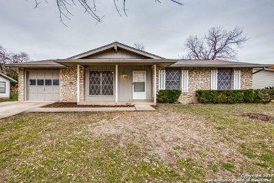 San Antonio Single Family Home New: 5859 Laurel Valley Dr