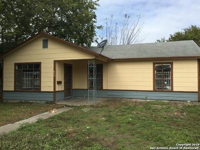 San Antonio Single Family Home New: 515 Nolan St