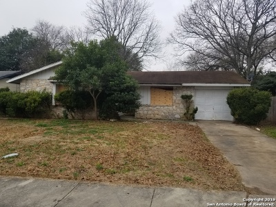 San Antonio Single Family Home New: 4822 Casa Espana St