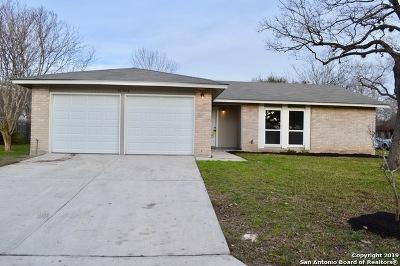 San Antonio Single Family Home New: 10302 Country Swan