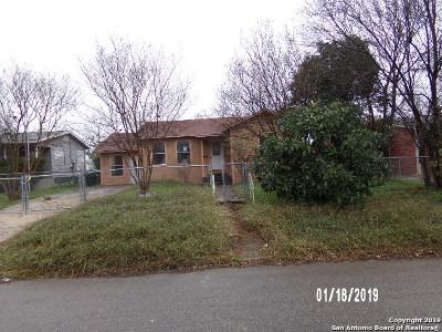San Antonio TX Single Family Home New: $63,000