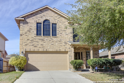 Schertz Single Family Home Active Option: 2709 Sterling Way