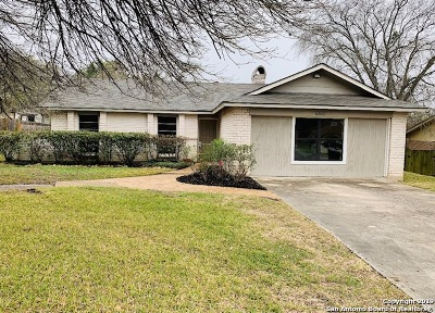 San Antonio Single Family Home New: 6510 Green Top Dr