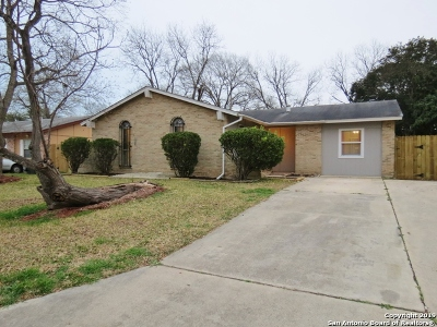 Schertz Single Family Home New: 312 Marilyn Dr
