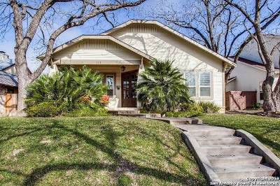Alamo Heights Single Family Home For Sale: 111 Wildrose Ave