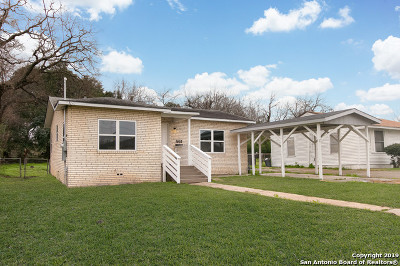 San Antonio Single Family Home New: 738 Gabriel