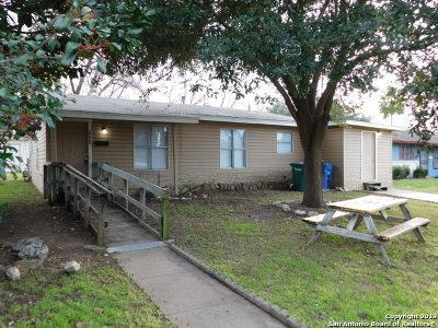 San Antonio TX Single Family Home New: $115,000