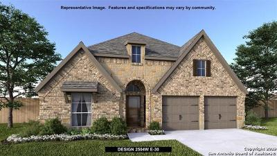 Bexar County Single Family Home New: 14005 Massima