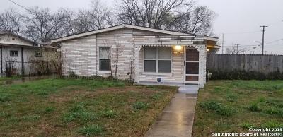 San Antonio Single Family Home Back on Market: 134 Westridge Dr