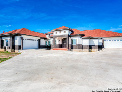 San Antonio Single Family Home New: 9833 Vista Circle