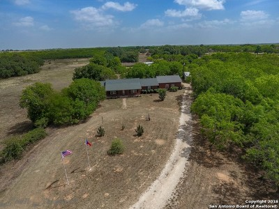 Wilson County Single Family Home Active Option: 3836 Fm 3432