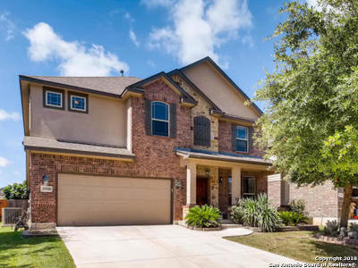 Bexar County Single Family Home New: 11930 Travis Path