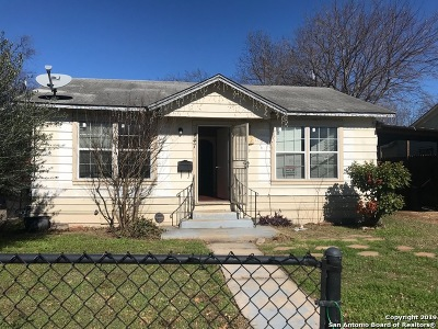 San Antonio Single Family Home For Sale: 447 Royston Ave