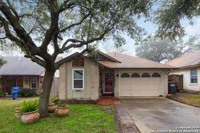 San Antonio Single Family Home New: 3574 Stoney Meadow St