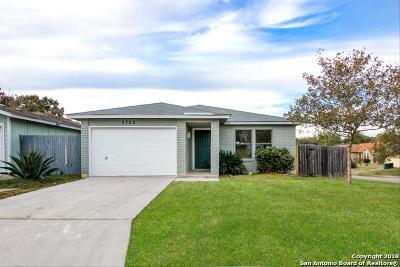 San Antonio Single Family Home New: 5725 Cactus Sun