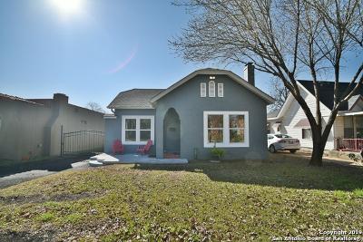 San Antonio Single Family Home New: 1718 W Summit Ave