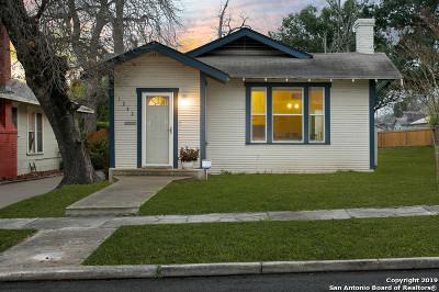 San Antonio Single Family Home New: 1242 Avant Ave