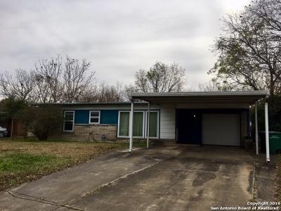 San Antonio TX Single Family Home New: $129,900