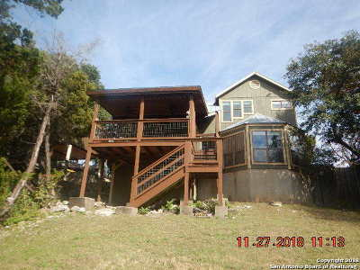 Canyon Lake Single Family Home New: 2330 Colleen Dr