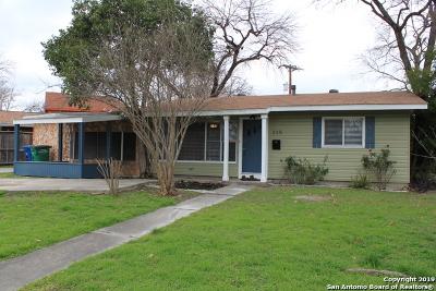 San Antonio Single Family Home New: 235 Saratoga Dr