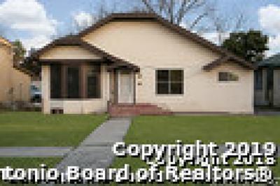 San Antonio Single Family Home New: 1531 W Summit Ave