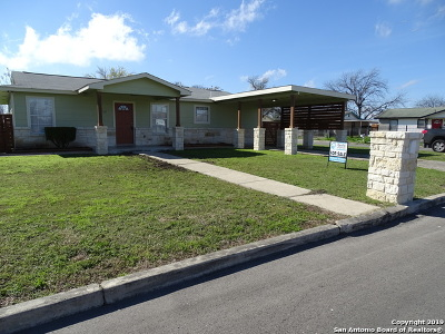 San Antonio Single Family Home New: 6552 W Commerce St