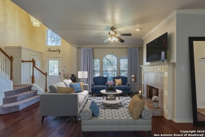 San Antonio Single Family Home New: 15218 Preston Pass Dr