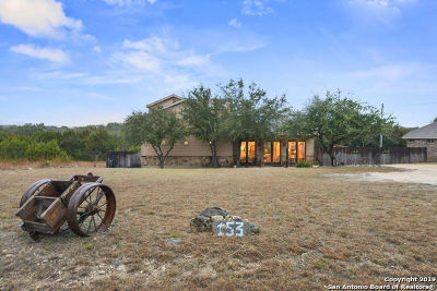 Helotes Single Family Home New: 153 Creekside