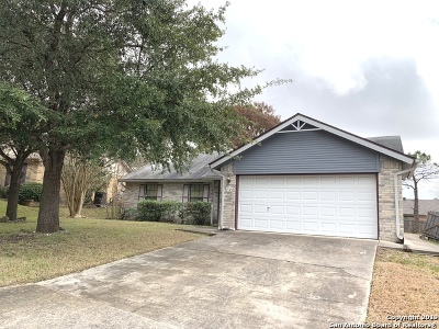 San Antonio Single Family Home New: 14610 Highland Ridge