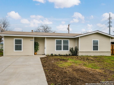 San Antonio Single Family Home New: 1011 Weizmann St