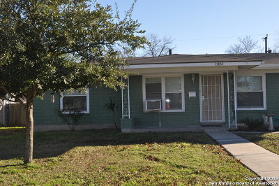 San Antonio Single Family Home New: 1326 Oblate Dr