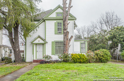 San Antonio Single Family Home New: 724 Pine St