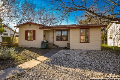 San Antonio Single Family Home New: 2342 Burnet St