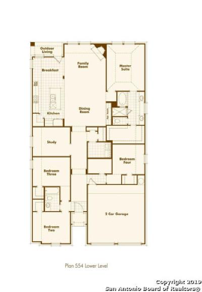 Bulverde Single Family Home New: 3046 Blenheim Park