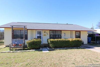 Kerrville Single Family Home For Sale: 347 Bluebonnet Dr