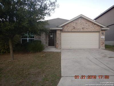 San Antonio Single Family Home New: 16622 Tenaca Trail