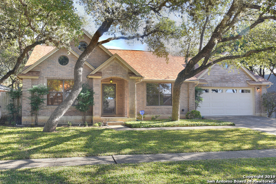 San Antonio Single Family Home New: 11303 Woodridge Forest