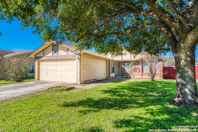 San Antonio Single Family Home New: 515 Saddlebrook Dr
