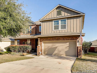 Helotes Single Family Home Active Option: 11226 Schinz Fld