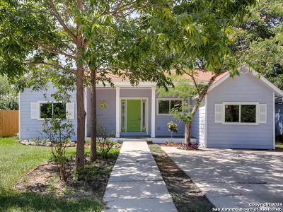 San Antonio Single Family Home Price Change: 2014 Waverly Ave
