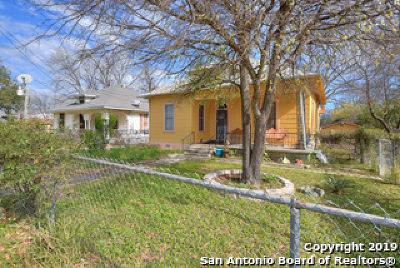 San Antonio Single Family Home New: 516 Willow