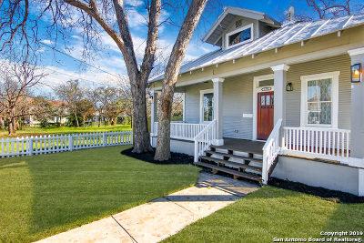 San Antonio Single Family Home New: 1032 Dawson St