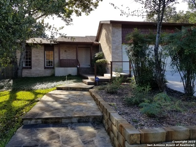 Helotes Single Family Home For Sale: 11132 Quail Xing