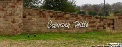 La Vernia Residential Lots & Land For Sale: 1165 Country View Dr