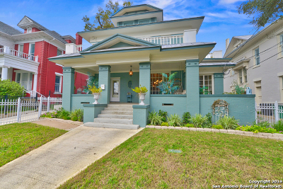 San Antonio Single Family Home For Sale: 107 W Ashby Pl