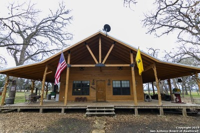 Bandera County Single Family Home For Sale: 2720 Bottle Springs Road