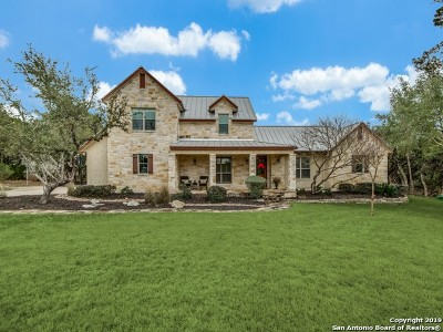Boerne Single Family Home For Sale: 107 Riverwalk