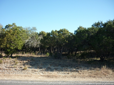 San Antonio Residential Lots & Land New: 22739 Central Pr