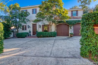 San Antonio Single Family Home For Sale: 748 Grandview Pl